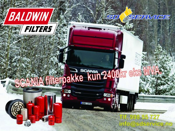 Scania filtrai
